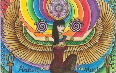 Goddess Isis – healing the wounds of the mother